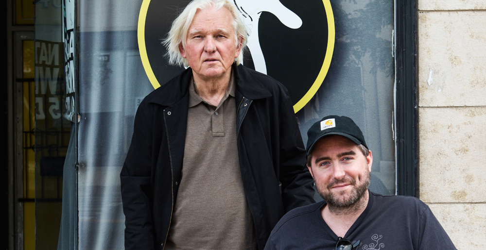 David Rabe and Michael Patrick Thornton (2)